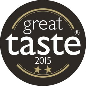 Great Taste Award 2015 2-star