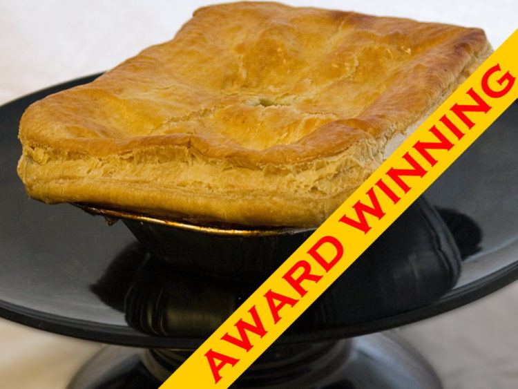 Award Winning 2 portion steak pie
