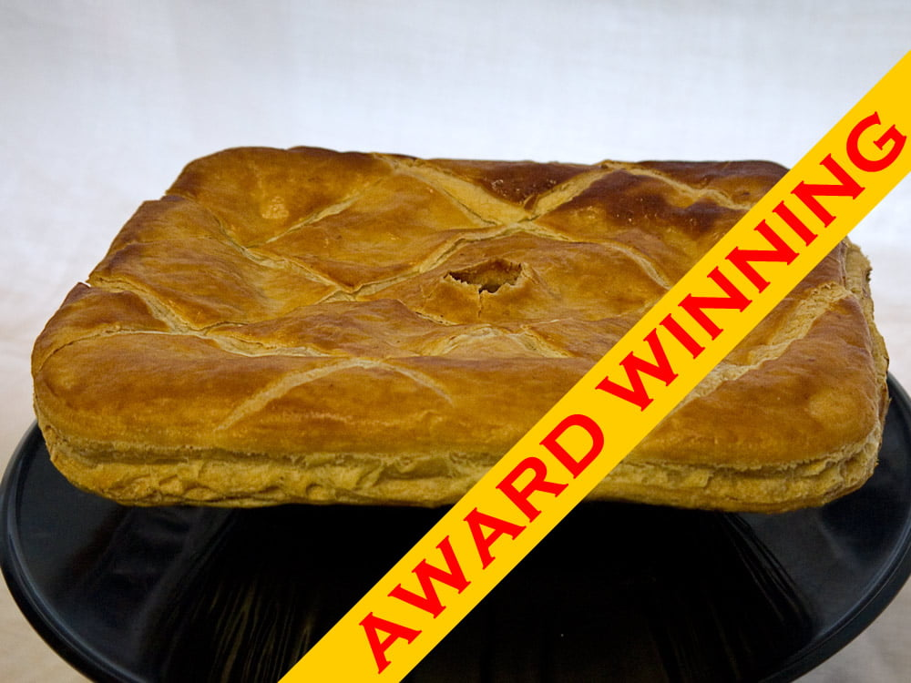 Award Winning Rump Steak Pie
