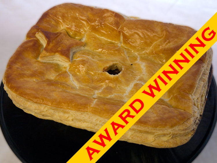 Award Winning 3 portion steak & sausage pie
