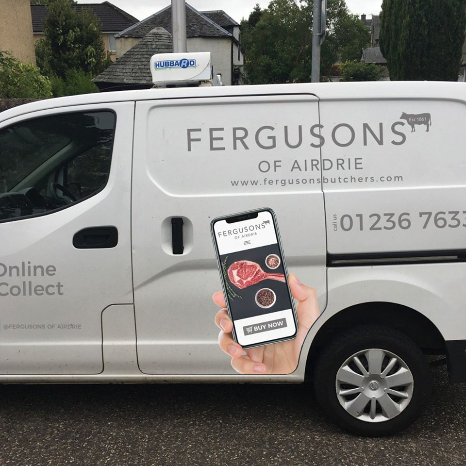 Fergusons Butchers van